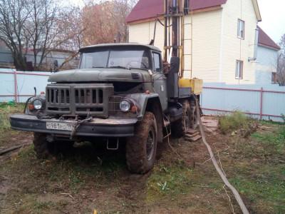 Бурение скважины в городе Чехов