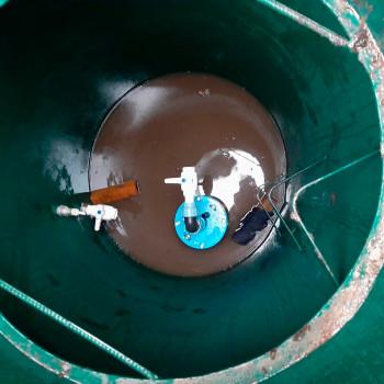 Обустройство самоизливной скважины в СНТ Луговое