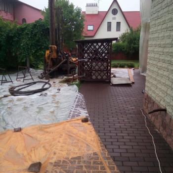 Бурение малогабаритной установкой в Подольске
