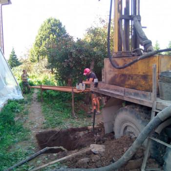 Бурение на воду в д. Семенково