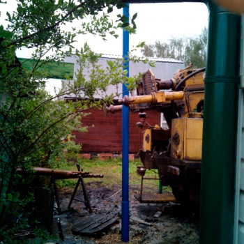 Бурение скважины на воду в СНТ «Луговое»