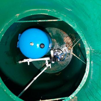 Скважина на воду в п. Толстопальцево