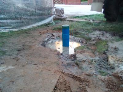 Бурение скважины на воду в КП «Заповедный Бор»