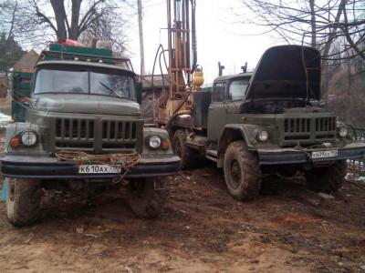 Бурение и обустройство скважины в Видном