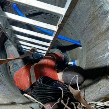 Скважина на воду в д. Хаустово