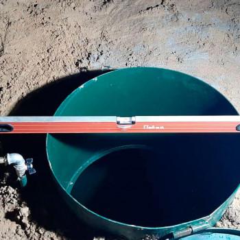 Обустройство самоизливной скважины в Можайске