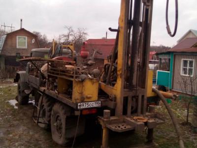 Бурение на воду в д. Захарково