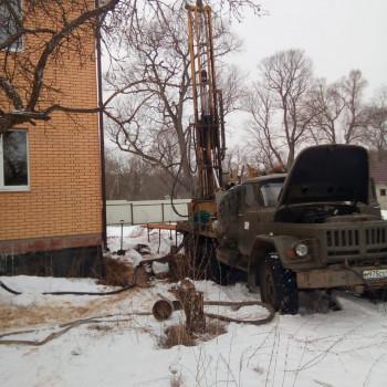 Бурение скважины в д. Александрово