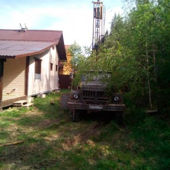 Бурение скважины на воду в СНТ «Заря-1»