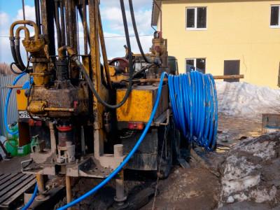 Бурение геотермальной скважины в ДНП Загорье