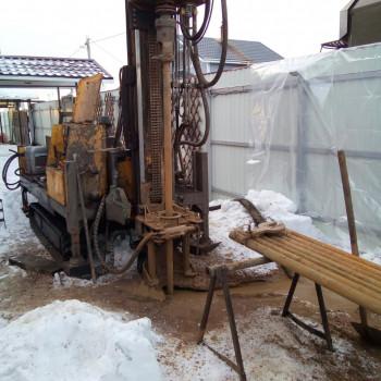Бурение скважины в КП Денисьево