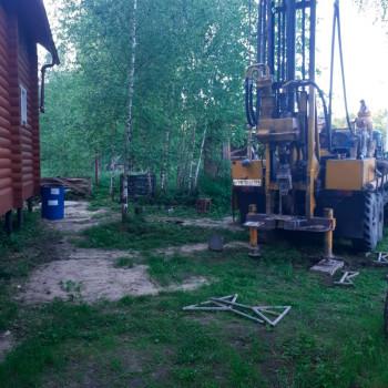 Бурение скважины на воду КП Лукошкино