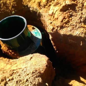 Обустройство скважины в д. Манюхино