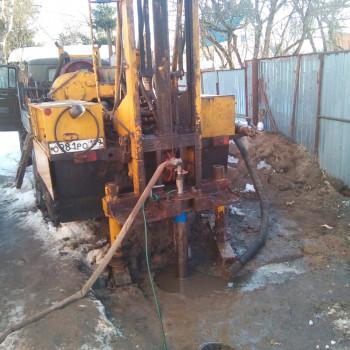 Бурение скважины на воду в СНТ Дачное