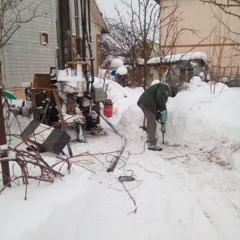 Бурение скважины на воду в СНТ Десна (Ерино) Подольского района