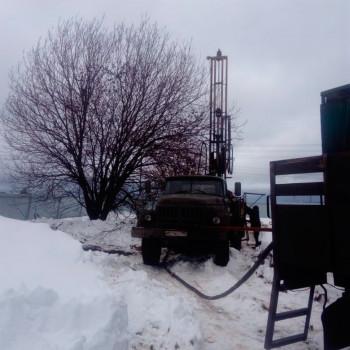 Бурение скважины на воду в д. Васьково