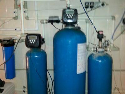 Обустройство скважины с насосом Grundfos SP
