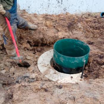Бурение и обустройство скважины в Загорново