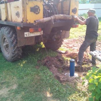 Скважина на воду в СНТ «Заозерный»