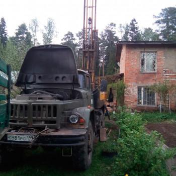 Бурение скважины на воду в СНТ «Заозёрное»