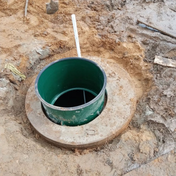Скважина на воду в деревне Малые Петрищи