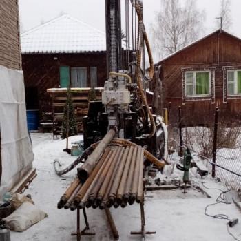 Бурение малогабаритной установкой в Подольске (СНТ «Быково»)