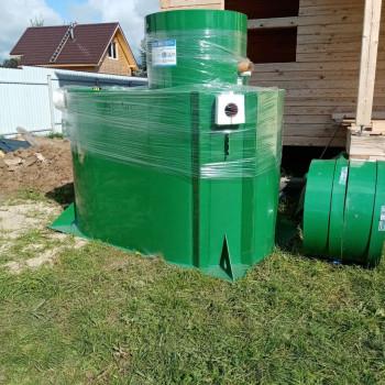Монтаж септика Alta Bio 10+ в Чехове