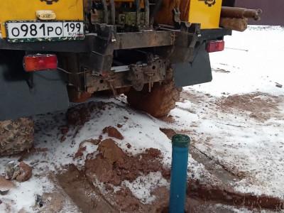 Скважина на глубокий песок в Солнечногорске