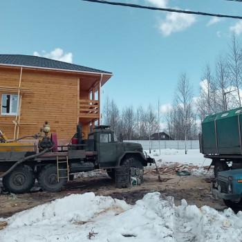 Бурение артезианской скважины в Дмитровском районе (КП Новинки)
