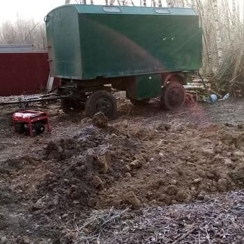 Бурение скважины на воду в поселке Первомайское