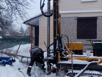 Бурение малогабаритной установкой в Павловском-Посаде