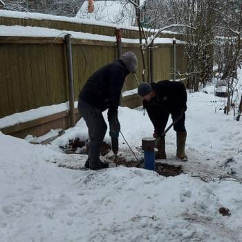Обустройство скважины с кессоном в Одинцовском районе
