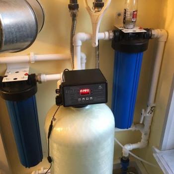 Монтаж системы очистки воды из скважины в Щелково