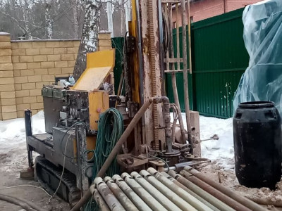 Бурение малогабаритной установкой в Красногорске