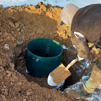 Бурение и обустройство скважины в Ступинском районе ( ДП Ясные Зори)