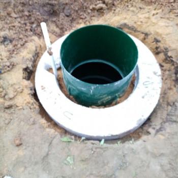 Обустройство скважины в Кашире (д. Зубово)