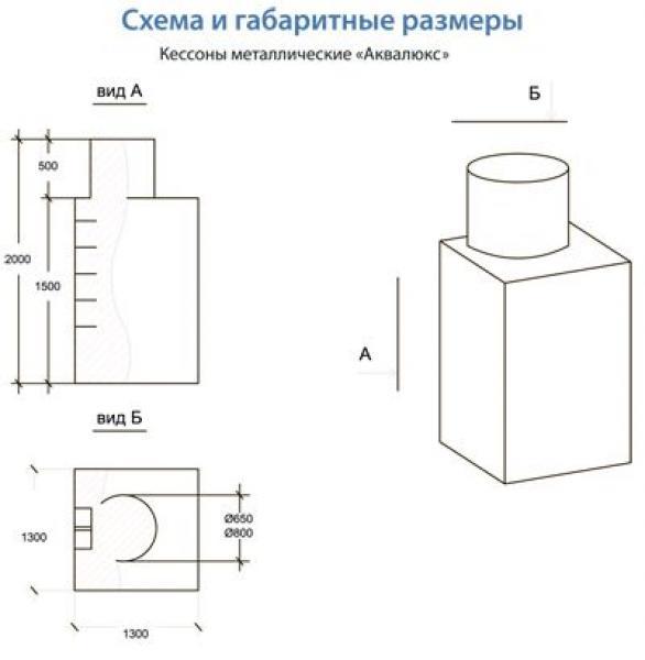 Металлический кессон Аквалюкс+ 7