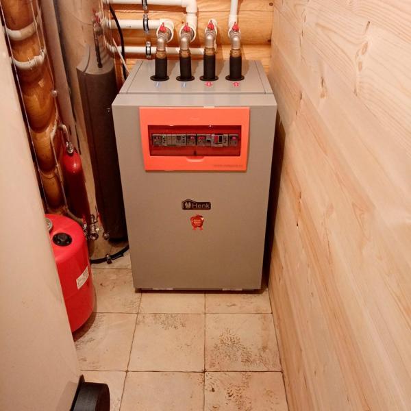 Геотермальное отопление дома площадью 150 м2
